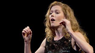 Barbara Hannigan en 2013.  (Simanek Vit/AP/SIPA)