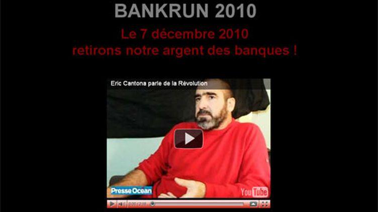 La page d'accueil de Bankrun 2010.com