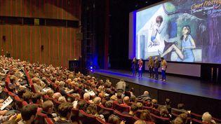 Les spectateurs affluent au 38e Festival du court-métrage à Clermont-Ferrand.  (Thierry Zoccolan / AFP)
