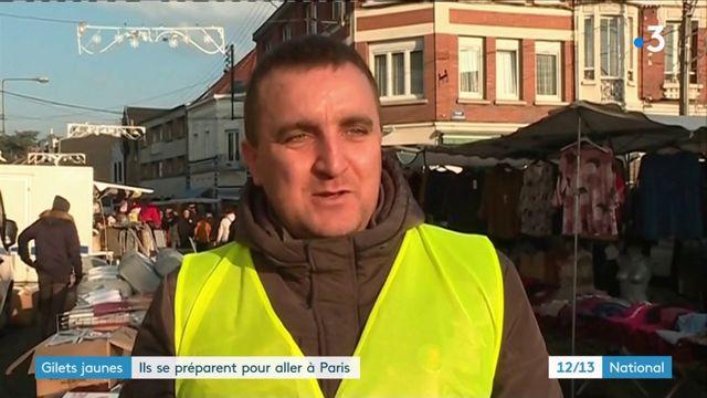 """Mobilisation des """"gilets jaunes"""" : ils se préparent pour aller à Paris"""