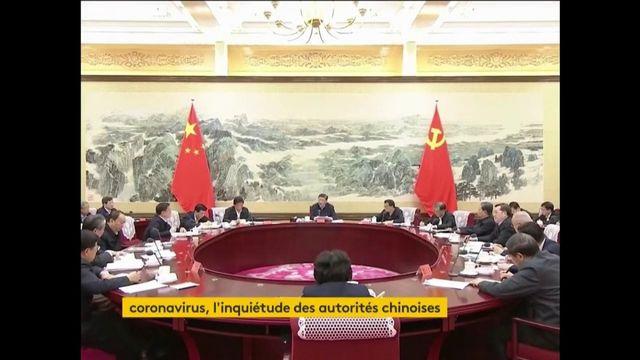 Coronavirus : l'inquiétude des autorités chinoises