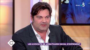 Randall Schwerdorffer, l'avocat de Jonathann Daval, le 31 janvier 2018 sur France 5. (FRANCE 5)