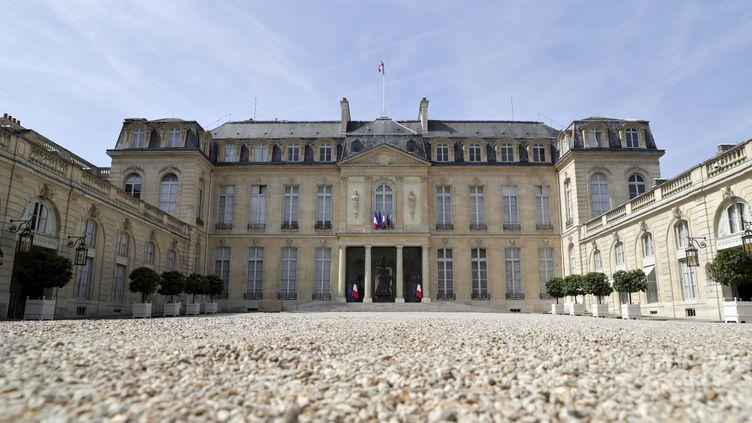Le Palais de l'Elysée en juin 2017. (THOMAS SAMSON / AFP)