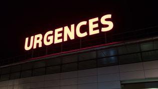 La façade de l'hôpital de Amiens (Somme), le 6 janvier 2020. (ALINE LAFOY / HANS LUCAS / AFP)