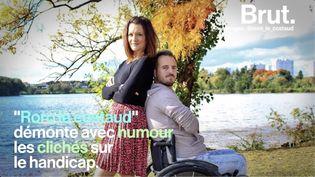 """VIDEO. """"Quand tu es en fauteuil, tout le monde te dit bon courage"""" : tétraplégique, il démonte les clichés sur son handicap (BRUT)"""