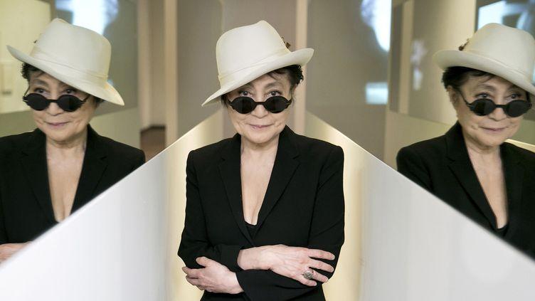 Yoko Ono inEn Trance,1997 Half A Wind Show, Louisiana Museum of Modern Art, 2013  (Photo:Bjarke Ørsted)