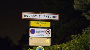 La ville de Boussy-Saint-Antoine dans l'Essonne, le 8 septembre 2016. (GEOFFROY VAN DER HASSELT / AFP)