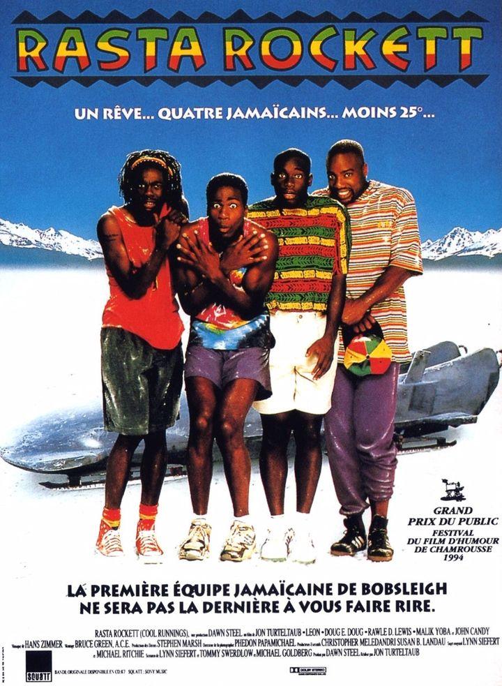 L'affiche du film Rasta Rockett de Jon Turteltaub, sorti en 1994. (Walt Disney Pictures)