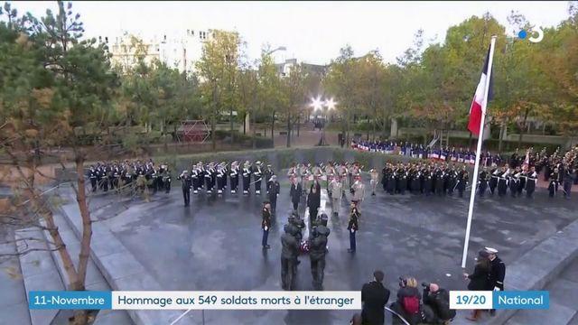 11-Novembre : Emmanuel Macron a rendu hommage aux 549 soldats morts à l'étranger
