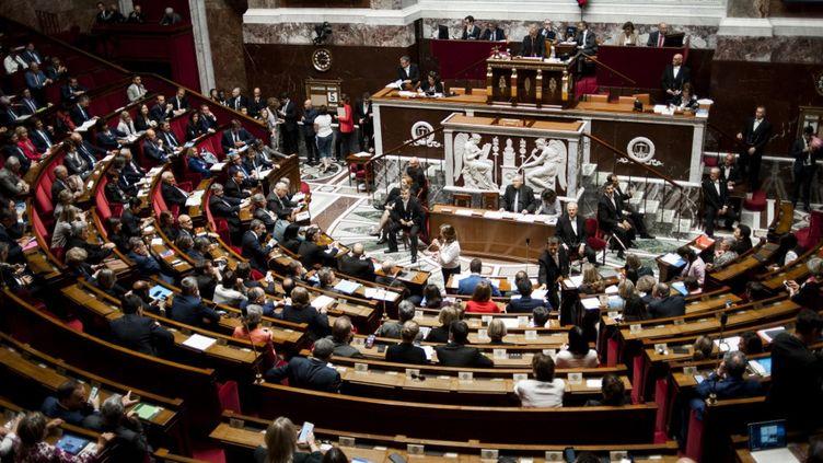 L'Assemblée nationale, photographiée le 5 juin 2018. (MAGALI COHEN / HANS LUCAS / AFP)