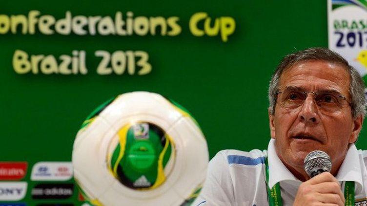 Oscar Tabarez, sélectionneur de l'Uruguay