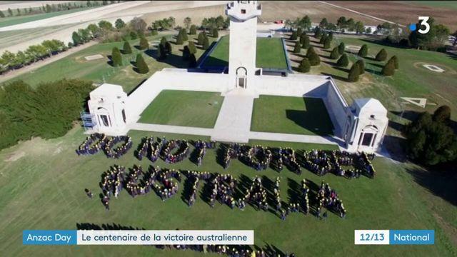 Anzac Day : le centenaire de la victoire australienne