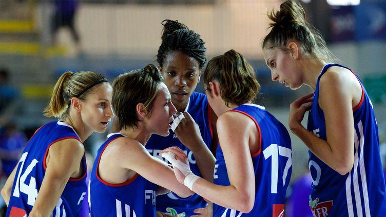 L'équipe de France féminine (JOHAN BEN AZZOUZ / MAXPPP)