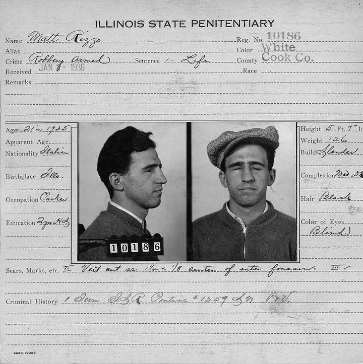"""Matt Rizzo en 1936, document figurant dans l'album """"L'accident de chasse"""",deDavid L. Carlsonet Landis Blair (SONATINE EDITIONS)"""