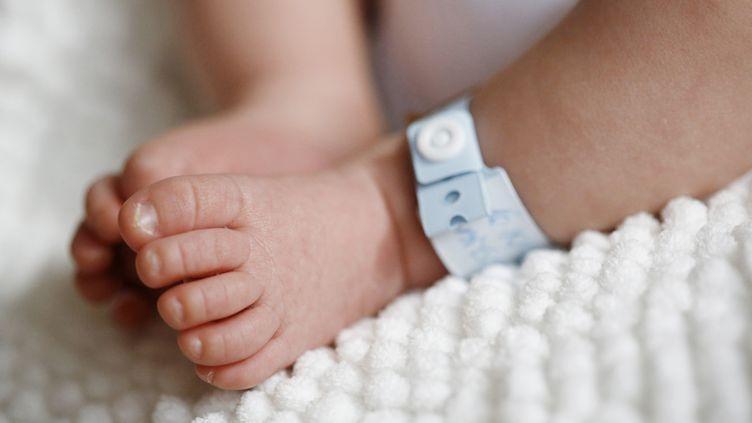 """""""Le garçon est né au début de l'année, dans la 26e semaine de grossesse. Il pesait 1 000 grammes"""", a annoncé l'hôpital,l'hôpital universitaire de Wroclaw en Pologne, mardi 19 avril. (CATHERINE DELAHAYE / PHOTONONSTOP / AFP)"""