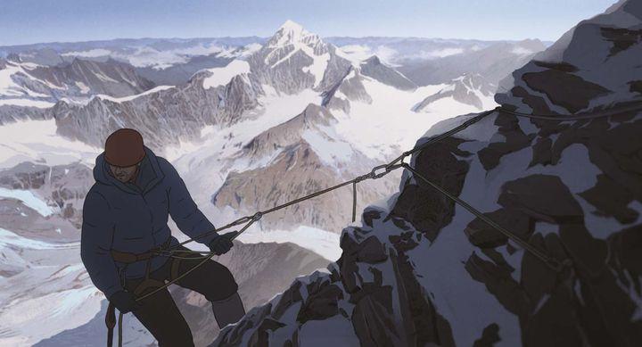 Le personnage d'Habu Jôji pratique essentiellement des ascensions en hivernale et en solitaire. (ALLOCINE / WILD BUNCH DISTRIBUTION)