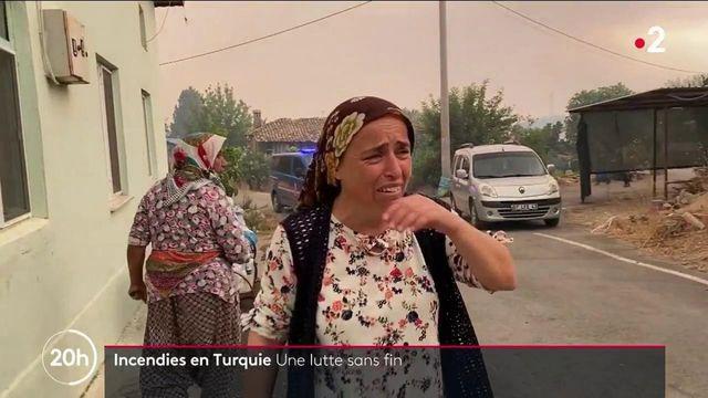 Turquie : la détresse de la population face aux violents incendies