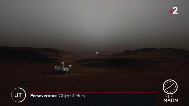 Conquête spatiale : le robot Perseverance arrive sur Mars