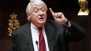 Claude Goasguen, à l'Assemblée nationale, en novembre 2014. (PATRICK KOVARIK / AFP)