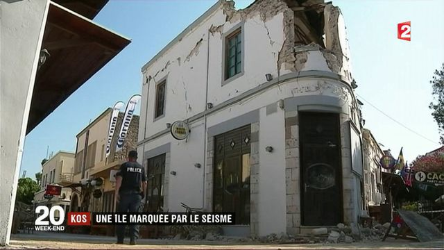Kos : une île marquée par le séisme