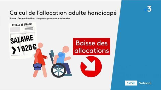 Allocation adulte handicapé : passage en force du gouvernement pour faire adopter le projet de loi