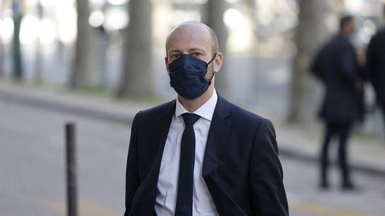 Stanislas Guerini, le 21 octobre 2020, à Paris. (LUDOVIC MARIN / AFP)