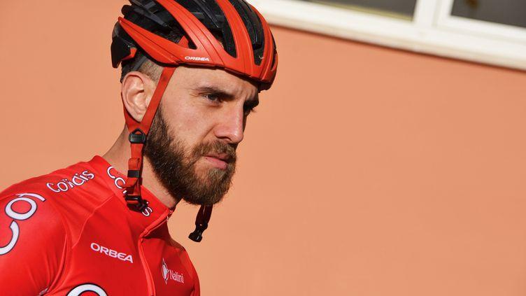 Loic Chetout, à la fin de l'entraînement du jour à Oliva (Espagne).