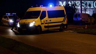 Un automobiliste a été légèrement blessé par balle après avoir forcé un barrage de CRS à Menton (Alpes-Maritimes), le 27 novembre 2017. (Photo d'illustration) (MAXPPP)