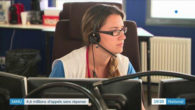 Samu : 4,6 millions d'appels sans réponse