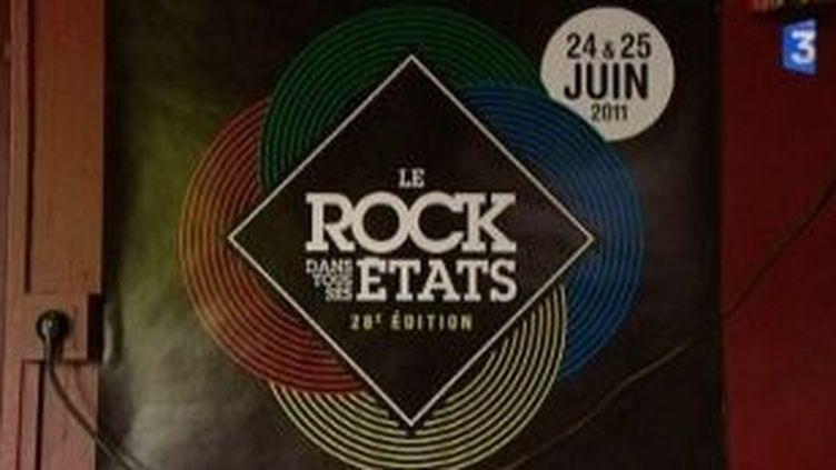 """Gaétan Roussel, Radio Sofa au programme du festival """"Le Rock dans tous ses états"""" 2011  (Culturebox)"""