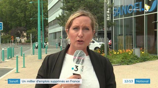 Sanofi : un millier d'emplois supprimés en France