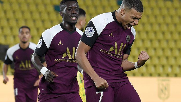 Mbappé a marqué son 7e but de la saison en Ligue 1 (SEBASTIEN SALOM-GOMIS / AFP)