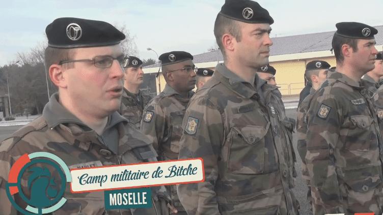 Rencontre avec les militaires du 16e bataillon de chasseurs de Bitche, en Moselle. (RAPHAËL KRAFFT ET ALEXIS MONCHOVET)