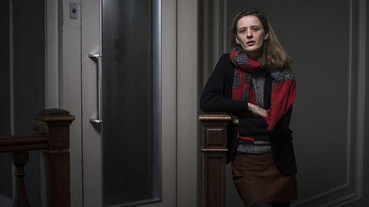 La réalisatrice françaiseMia Hansen-Lovele 13 décembre 2018 à Paris (LIONEL BONAVENTURE / AFP)