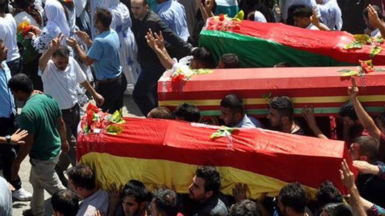 Trois hommes dont un adolescent ont été tués dans un accrochage avec la police turque dans la ville de Sirnak le 9 août 2015. (AFP)