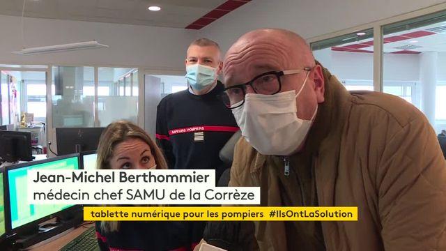 Corrèze : une tablette connectée pour aider les pompiers à mieux prendre en charge les urgences
