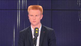Adrien Quatennens, député du Nord de la France insoumise, le 19 octobre 2018. (RADIO FRANCE / FRANCEINFO)
