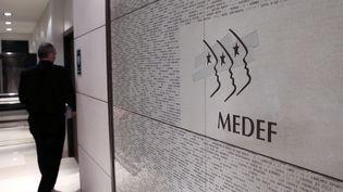 Le siège du Medef à paris, le 11 janvier 2013 (JACQUES DEMARTHON / AFP)