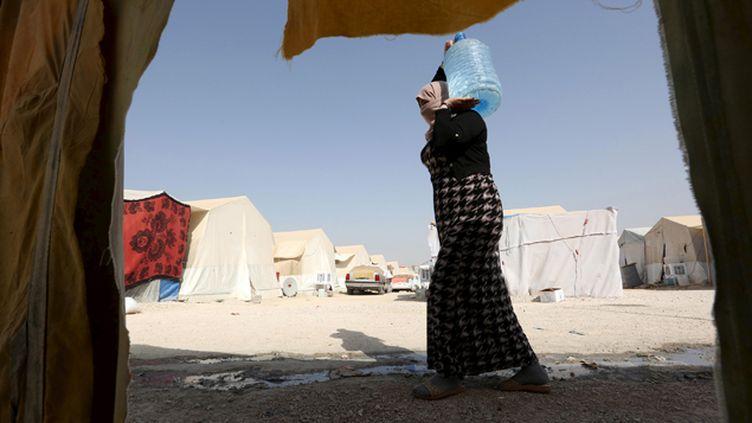 (Dans un camp de réfugiés à Dohuk © REUTERS/Ari Jala)