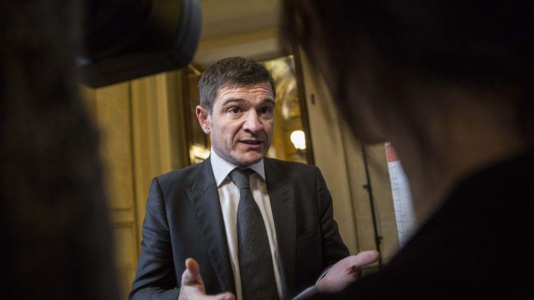 Le député UMP Benoist Apparu, le 25 novembre 2014 à l'Assemblée nationale à Paris. (MAXPPP)