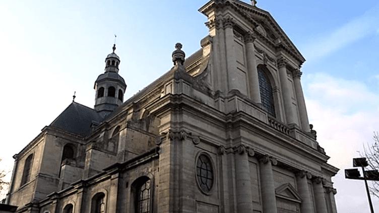L'Eglise Notre-Dame-de-la-Gloriette à Caen au coeur d'une polémique.  (France 3 Culturebox)