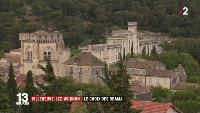 Gard : la famille Obama très attendue à Villeneuve-lès-Avignon