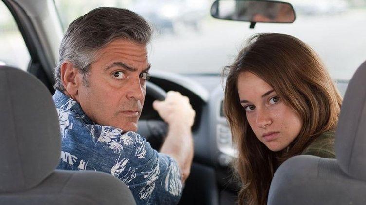"George Clooney et Shailene Woodley dans ""The Desendants"" de Alexander Payne  (Twentieth Century Fox France)"