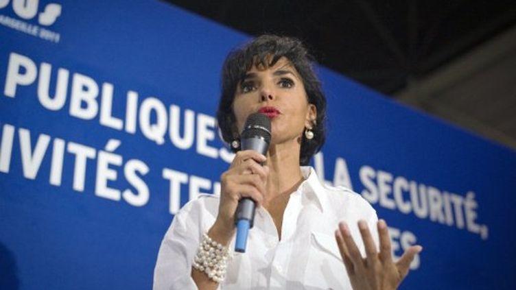 Rachida Dati à Marseille lors du Campus de l'UMP, le 3 septembre 2011. (LIONEL BONAVENTURE / AFP)
