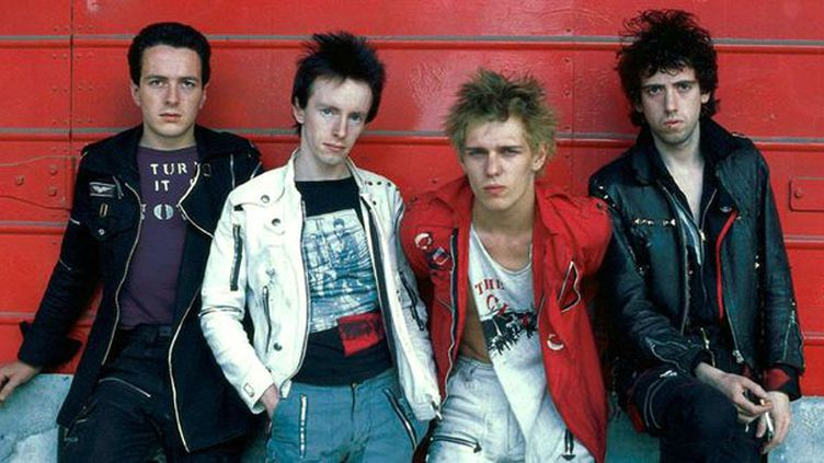 The Clash : Joe Strummer, Topper Headon, Paul Simonon et Mick Jones.  (Adrian Boot/SIPA/AP/SIPA)