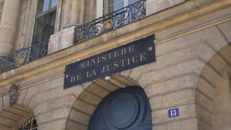 Le ministère de la Justice à Paris (illustration). (ALEXIS SCIARD  / MAXPPP)