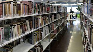 La bibliothèque municipale dans le quartier de la Part Dieu de Lyon le 5 janvier 2020. (MAXIME JEGAT / MAXPPP)