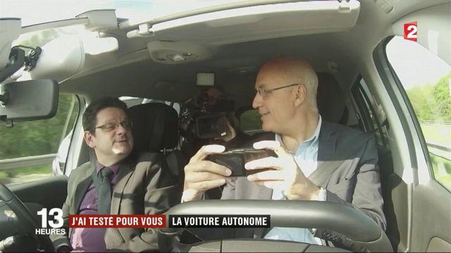 """""""J'ai testé pour vous"""" la voiture autonome"""