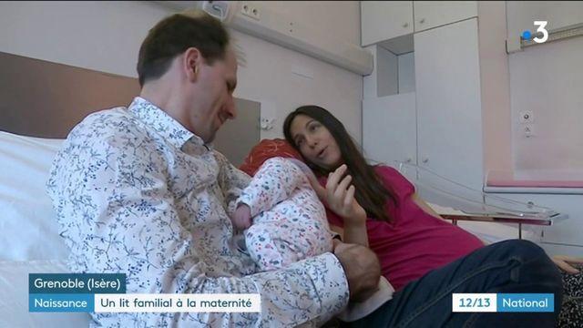 Naissance : un lit familial à la maternité