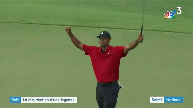 Golf : Tiger Woods, la résurrection d'une légende